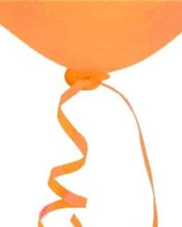orange ballonsnor autoluk