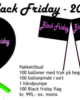 Pakketilbud Black Friday 2018